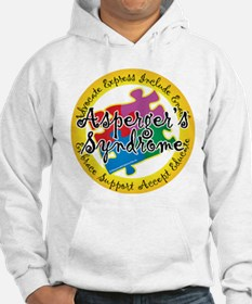 Asperger's Syndrome Puzzle Pi Hoodie