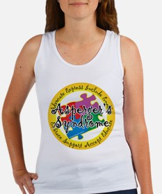 Asperger's Syndrome Puzzle Pi Women's Tank Top