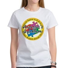 Asperger's Syndrome Puzzle Pi Tee