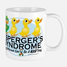 Asperger's Syndrome Ugly Duck Mug