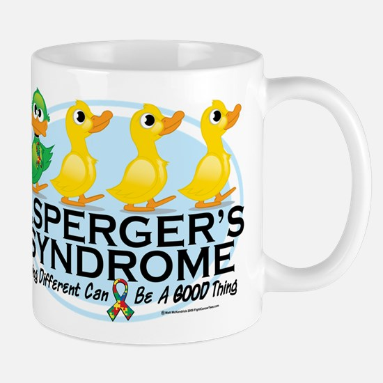 Asperger's Syndrome Ugly Duck Mug