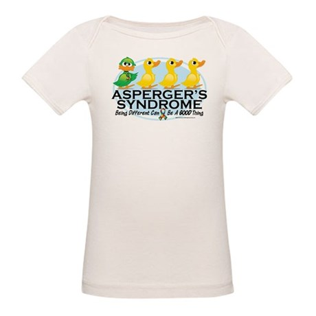 Asperger's Syndrome Ugly Duck Organic Baby T-Shirt