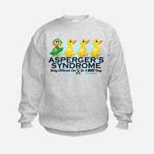Asperger's Syndrome Ugly Duck Sweatshirt