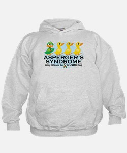 Asperger's Syndrome Ugly Duck Hoodie