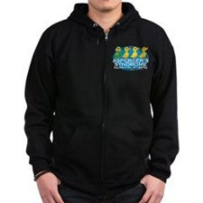 Asperger's Syndrome Ugly Duck Zip Hoody