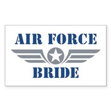 Air Force Bride Decal