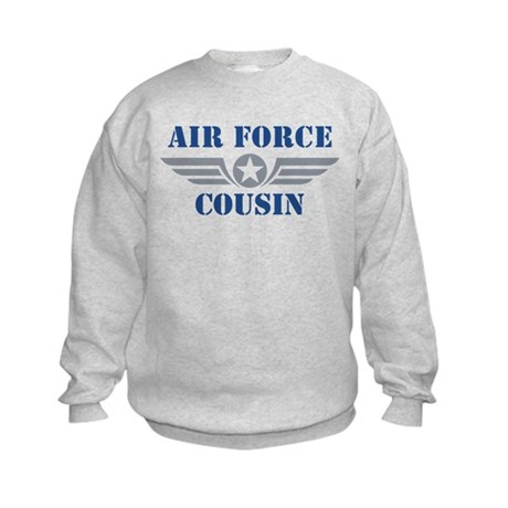 Air Force Cousin Kids Sweatshirt