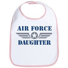 Air Force Daughter Bib