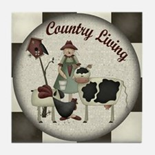 Country Living Tile Coaster
