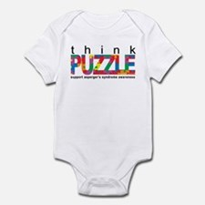 Asperger'sThink Puzzle Infant Bodysuit