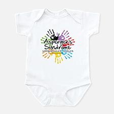 Asperger's Syndrome Handprint Infant Bodysuit