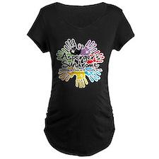 Asperger's Syndrome Handprint T-Shirt