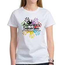 Asperger's Syndrome Handprint Tee