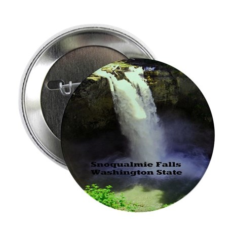 """Snoqualmie Falls 2.25"""" Button (10 pack)"""