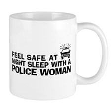 Funny Police Woman Mug