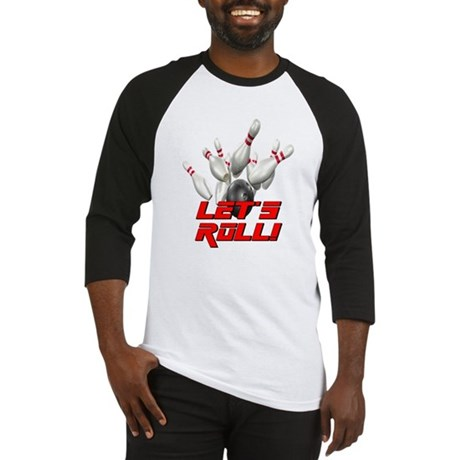 Let's Roll Bowling Baseball Jersey