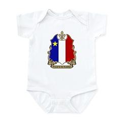 Proud Acadian Infant Creeper
