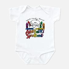 Asperger's Syndrome Crayons Infant Bodysuit