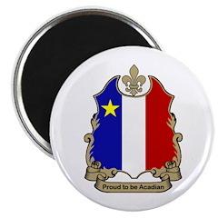 "Proud Acadian 2.25"" Magnet (100 pack)"