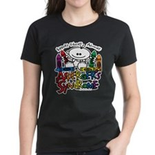 Asperger's Syndrome Crayons Tee