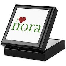 I Heart Nora Keepsake Box