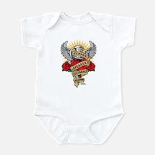 Cute Autism handprint Infant Bodysuit