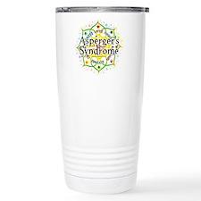 Asperger's Syndrome Lotus Travel Mug