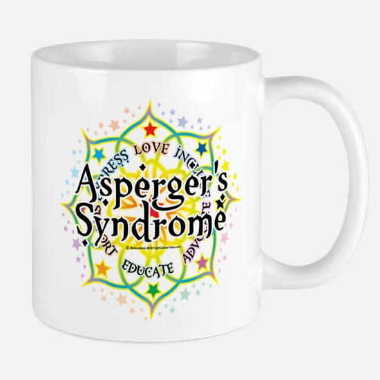 Asperger's Syndrome Lotus Mug
