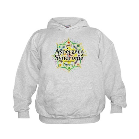 Asperger's Syndrome Lotus Kids Hoodie