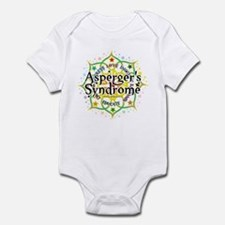 Asperger's Syndrome Lotus Infant Bodysuit