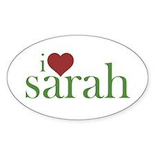 I Heart Sarah Decal