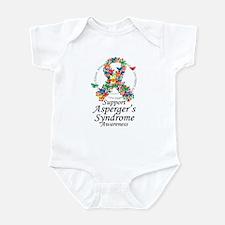 Asperger's Syndrome Ribbon of Infant Bodysuit