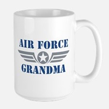 Air Force Grandma Large Mug