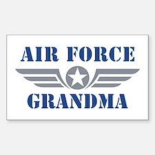 Air Force Grandma Decal
