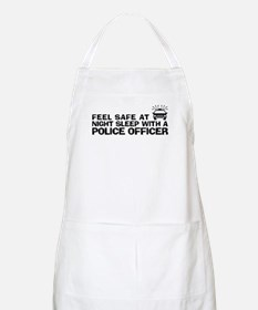 Funny Police Officer Apron