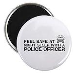 Funny Police Officer Magnet