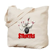 Strokers Bowling Tote Bag