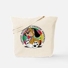Asperger's Syndrome Dog Tote Bag