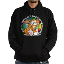 Asperger's Syndrome Cat Hoodie
