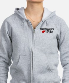 State Trooper's Wife Zip Hoodie