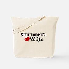 State Trooper's Wife Tote Bag