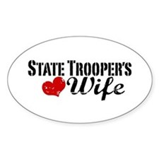 State Trooper's Wife Decal
