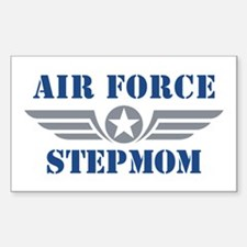 Air Force Stepmom Sticker (Rectangle)