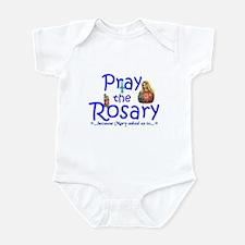 Pray the Rosary - Infant Bodysuit pick a color (b)