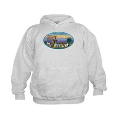 St Francis / dogs-cats Hoodie