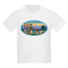 St Francis / dogs-cats T-Shirt