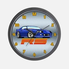 Blue RS Camaro Wall Clock