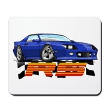 Blue RS Camaro Mousepad