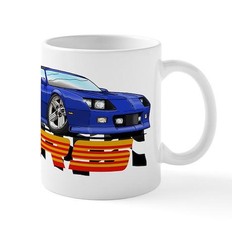 Blue RS Camaro Mug