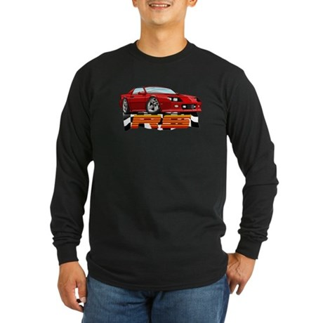 Red RS Camaro Long Sleeve Dark T-Shirt
